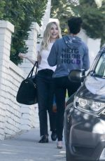 Emma Roberts Seen heading to a photoshoot in Los Angeles
