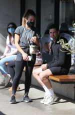 Emma Slater & Brittany Cherry Out in West Hollywood