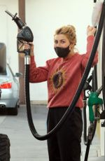 Emma Slater Seen at a gas station in Studio City