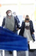 """Florence Pugh Spotted holding hands on the set of """"Don"""