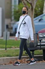 Gal Gadot Getting some exercise with her family in Studio City