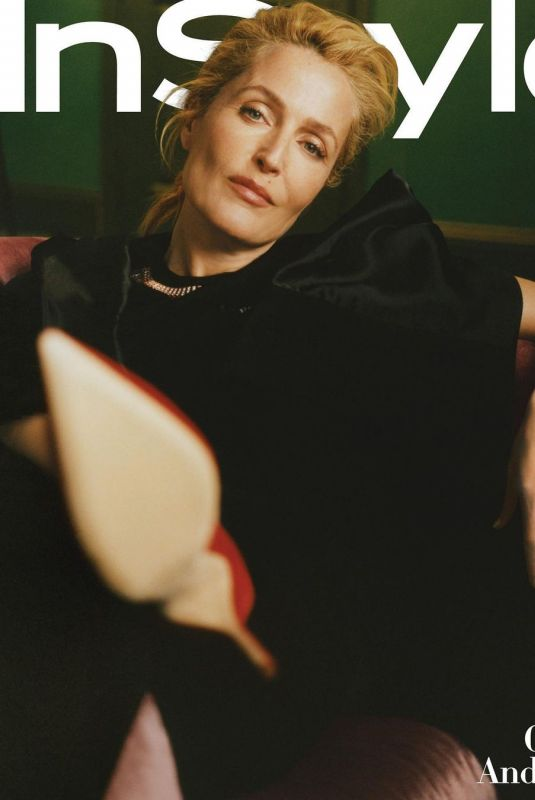 Gillian Anderson - InStyle Magazine, March 2021