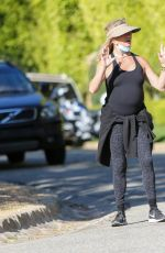Goldie Hawn Out for a hike with a friend in Los Angeles