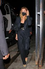 Hailey Baldwin At Catch in West Hollywood