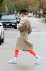 Hailey Bieber Going to workout in West Hollywood
