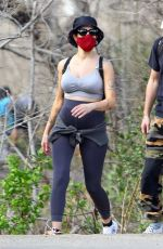 Halsey Steps out for a hiking session in Malibu