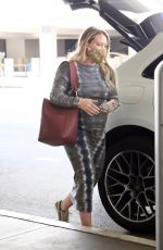Hilary Duff Spotted at LAX in Los Angeles