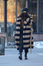 Irina Shayk Spotted out & about in New York City
