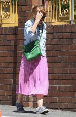 Isla Fisher Is all smiles as she is seen thanking the sky on her 45th birthday in Sydney