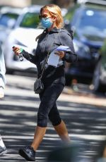 Isla Fisher Running errands out in Sydney
