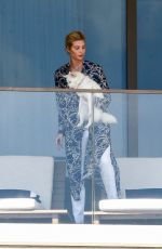 Ivanka Trump Chills on the balcony of her apartment in Miami Beach