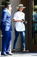 Ivanka Trump Seen leaving her condo with her husband in Miami