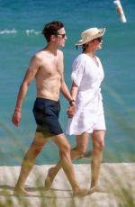 Ivanka Trump Seen with her husband on the beach in Miami