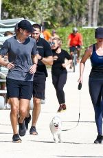 Ivanka Trump Steps out for an early morning run in Miami Beach