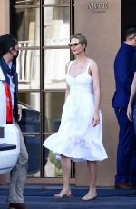 Ivanka Trump Visiting her property on Bald Harbor Island in Miami Beach