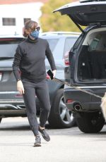 Jennifer Garner Takes her two adorable puppies to the dog park in Pacific Palisades