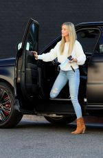Joanna Krupa In Tight jeans and boots out in Miami