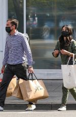 Jordana Brewster Out for shopping in Beverly Hills