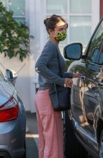 Jordana Brewster Seen with her son in Brentwood