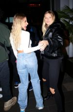 Josie Canseco & Tana Mongeau Are seen arriving for dinner at BOA steakhouse in West Hollywood