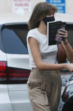 Kaia Gerber Goes for coffee and spent 7 hours in the hair salon to upgrade her hairstyle in Studio City