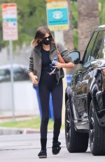Kaia Gerber Heads for an early morning workout in Los Angeles