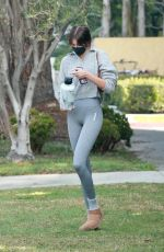 Kaia Gerber Looks casually chic after private Pilates workout session in Los Angeles