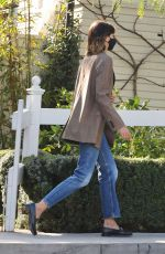 Kaia Gerber Outside San Vicente Bungalows in West Hollywood