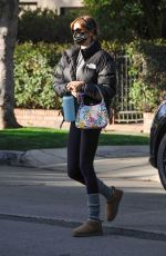 Kaia Gerber Seen heading to her morning workout class in Los Angeles