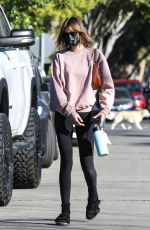 Kaia Gerber Seen leaving a pilates class in West Hollywood