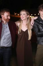 Kathryn Newton At the premiere of A map of tiny perfect things in Los Angeles