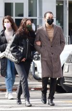 Katie Holmes Out for a romantic stroll with her boyfriend in New York City