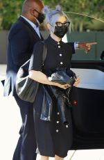 Kelly Osbourne Arrives at the Hollywood Roosevelt to work on a project