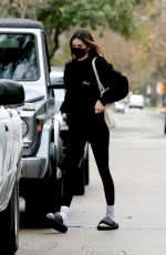 Kendall Jenner Leaving a private gym in LA