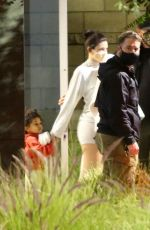 Kim Kardashian & Kylie Jenner Spotted returning from a family getaway to Turks and Caicos