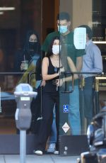 Kourtney Kardashian Shops for furniture and grabs a matcha drink with friends in West Hollywood