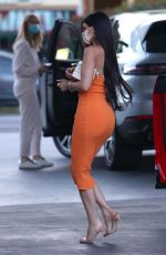Kylie Jenner Pumping gas in Los Angeles