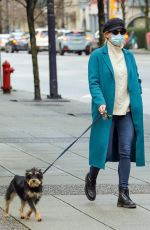 Lili Reinhart Out with her dog in Vancouver