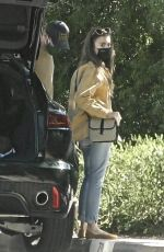 Lily Collins Out with Redford in Pasadena