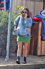 Lucy Hale Goes shopping in Venice, California