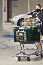 Lucy Hale Grocery shopping at Whole Foods in LA