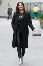 Lucy Horobin Seen at the Global Radio studios in London
