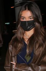 Madison Beer Out for dinner at Catch LA in West Hollywood