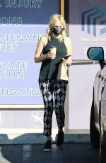Malin Akerman Gets her daily dose of caffeine in Los Feliz wearing workout clothes