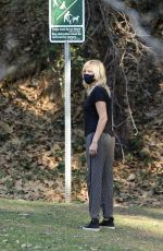 Malin Akerman Out at a park in Los Angeles