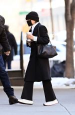 Mary-Kate Olsen Seen arriving to her office in New York City