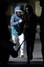Michelle Keegan Filming Brassic TV Show in Manchester