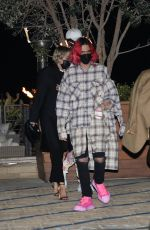 Miley Cyrus & Lil Nas X grab dinner together at Nobu Malibu in Malibu