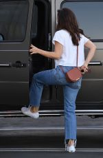 Minka Kelly In Jeans and tshirt out in LA
