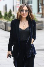Myleene Klass Seen at the Global Radio studios in London